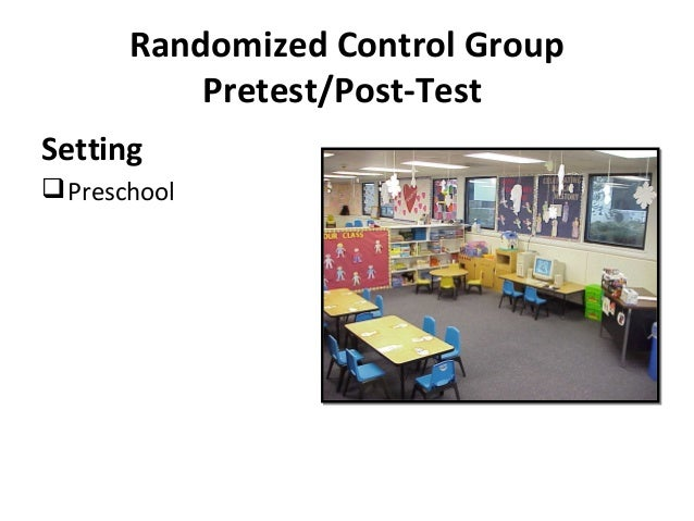 Dissertation control groups
