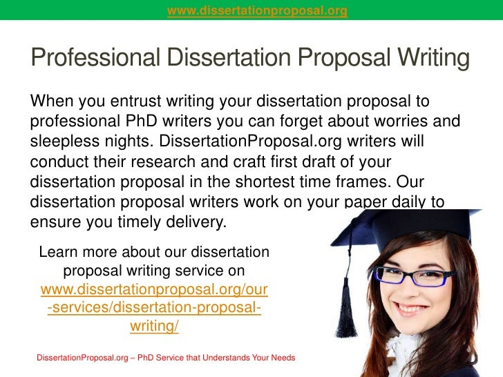 Writing Dissertation Proposal