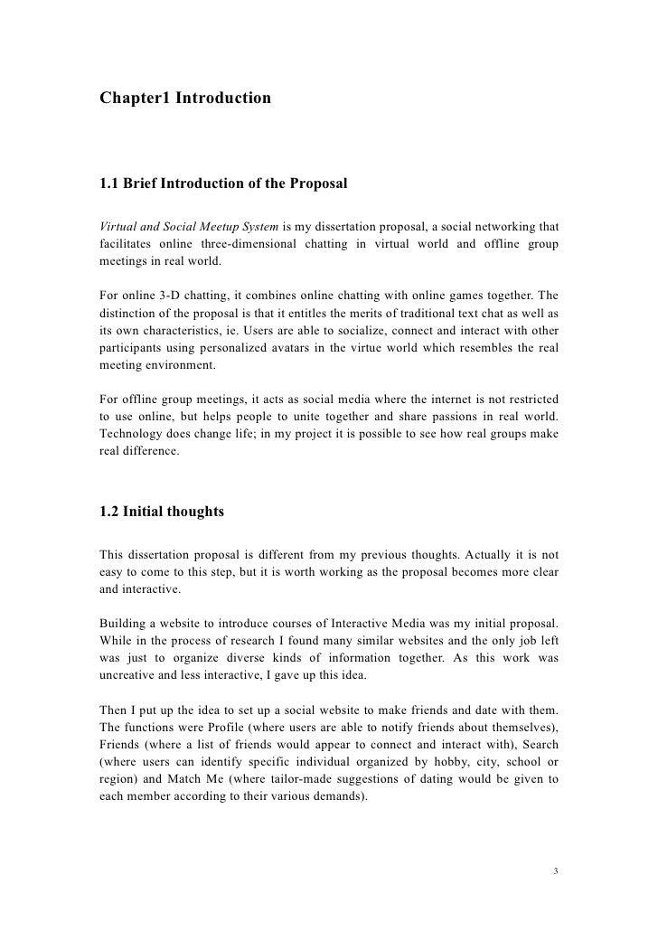 three paper dissertation proposal