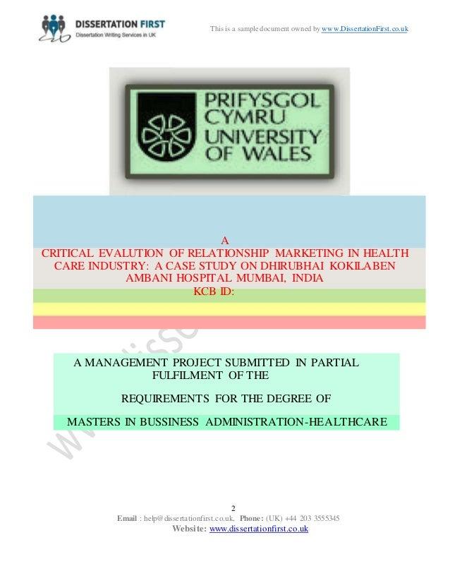 Best Marketing Dissertations