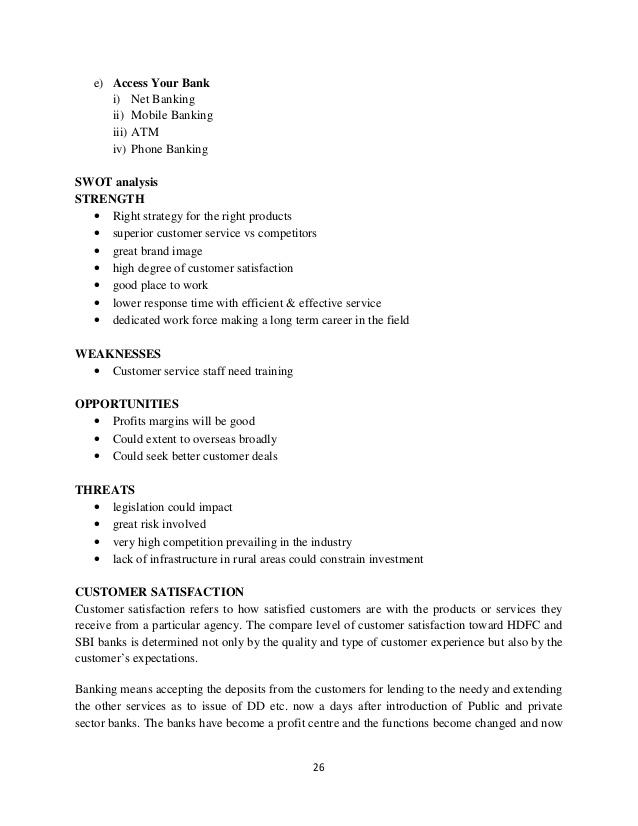 Mobile banking dissertation