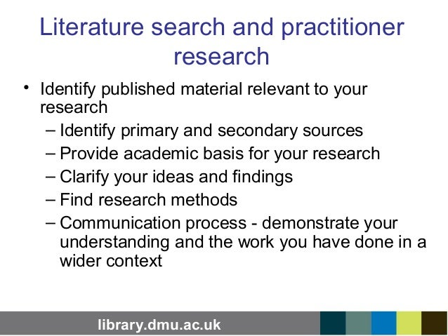 literature search dissertation A literature review or narrative review is a  (the document that is approved before a student formally begins a dissertation or  doing a literature search:.