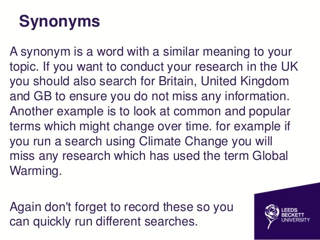synonym for dissertation