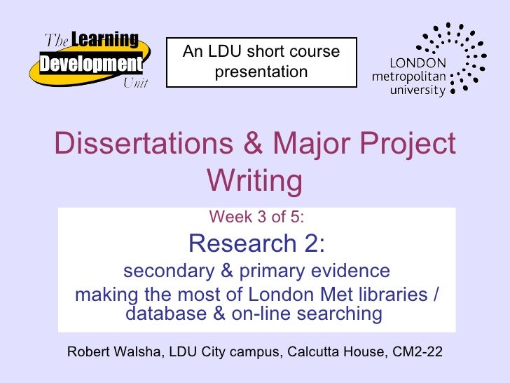Dissertations 3   research 2