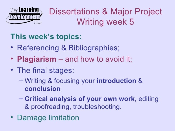 Can you plagiarize your own dissertation