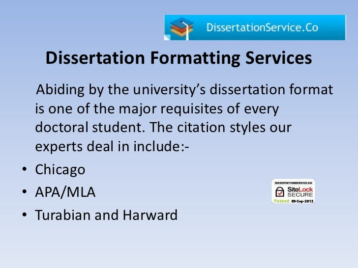 Dissertation analysis example