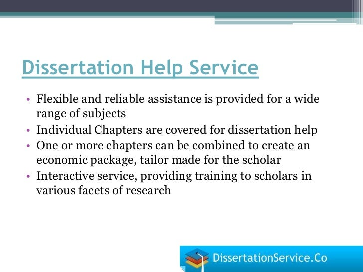Masters Dissertation Services Questions