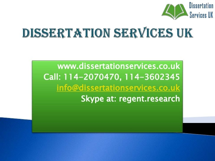 Dissertation Support