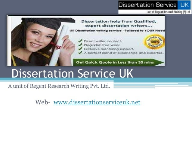 Dissertation services in uk - Can You Write My Research