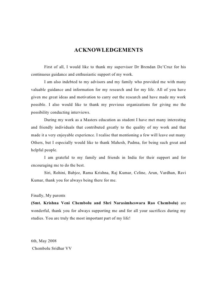 Acknowledgements - University of Maryland