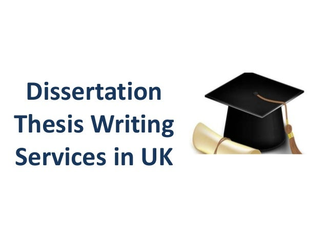 Dissertation Writing Service We Offer