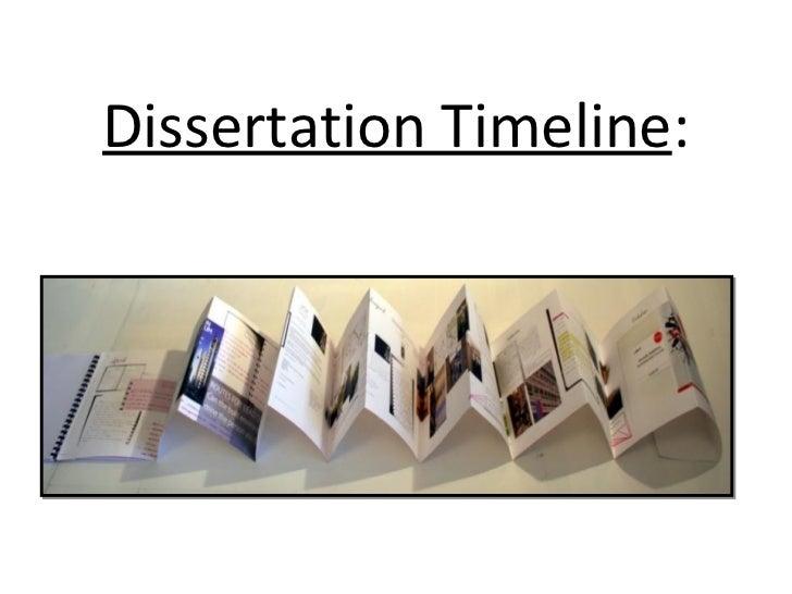 Dissertation Timelines