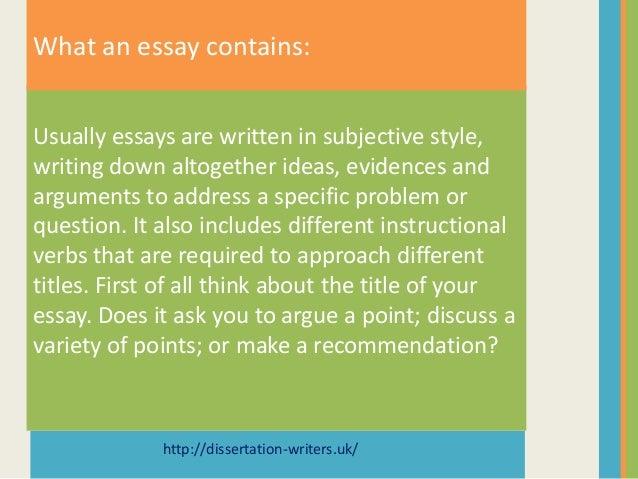 dissertation writers