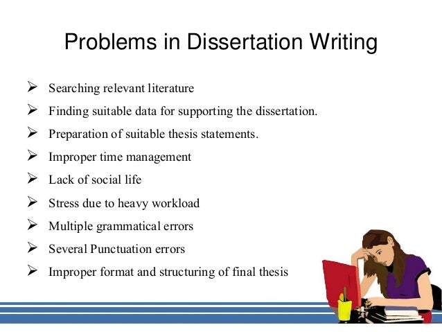 dissertation/project hints writing up your dissertation/project