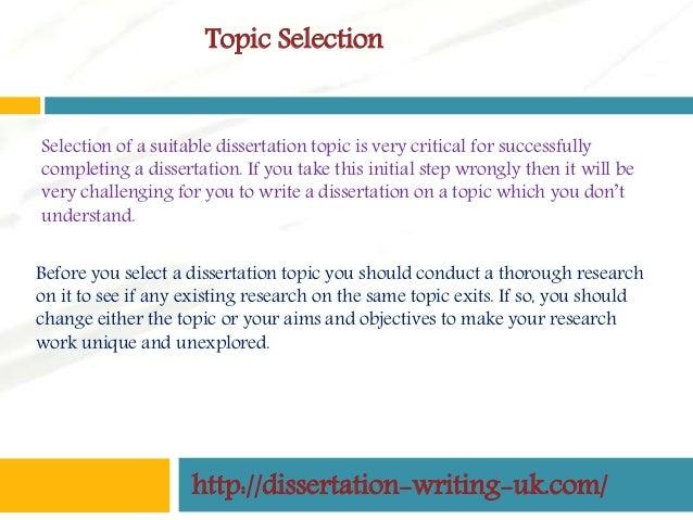 publishing a dissertation uk