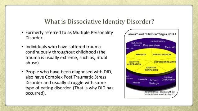 multiple personality disorder dissociative identity disorder essay