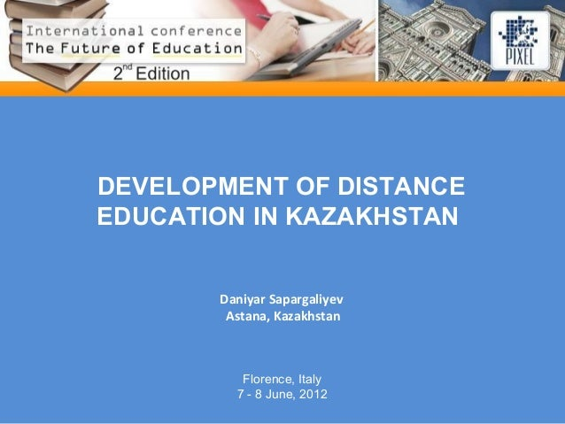 Distance Education Essential in Developing Education