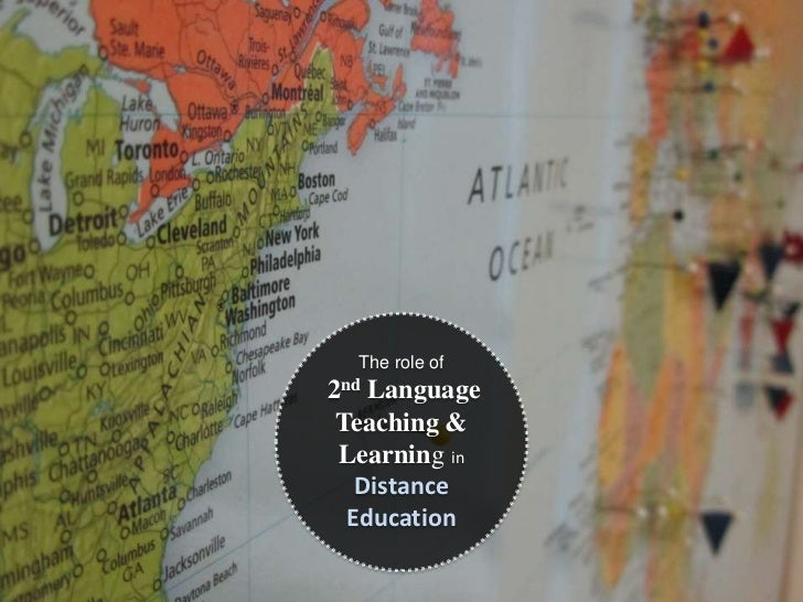 Distance education needs 2nd language Teaching and research