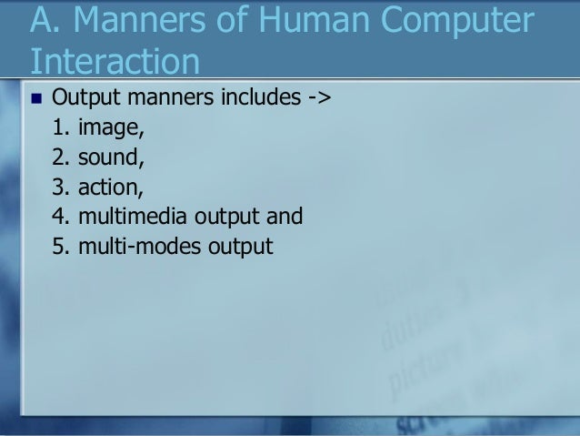 learning and memory through computer interaction Human-computer interaction hci support and fulfill human-computer activities and is applied to and operations through specific computer system.