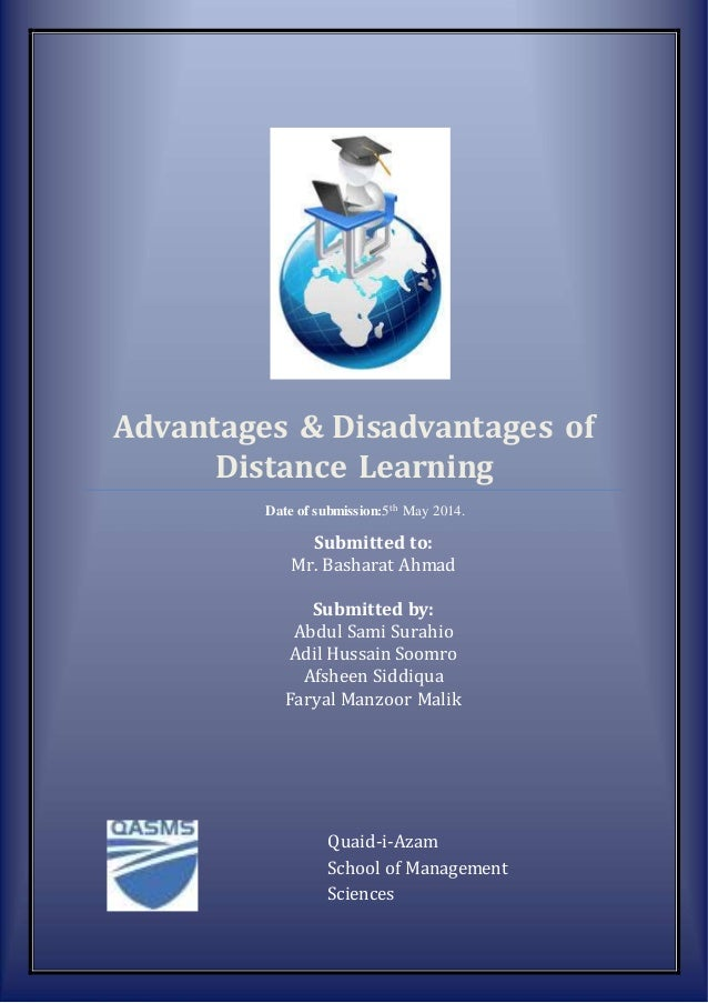 research paper on benefits of distance learning Sample essay on distance education distance learning essay example.