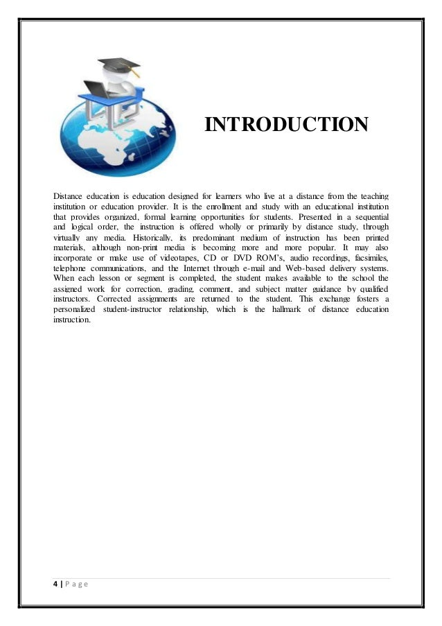 introduction on education essay