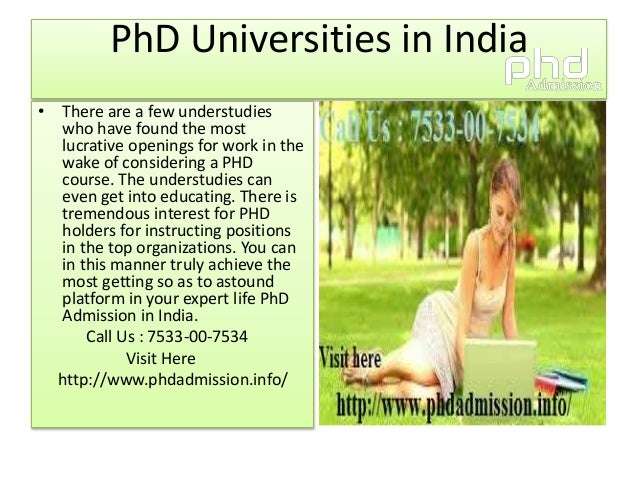 Distance education phd