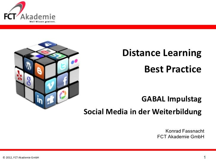 Distance Learning                                           Best Practice                                             GABA...