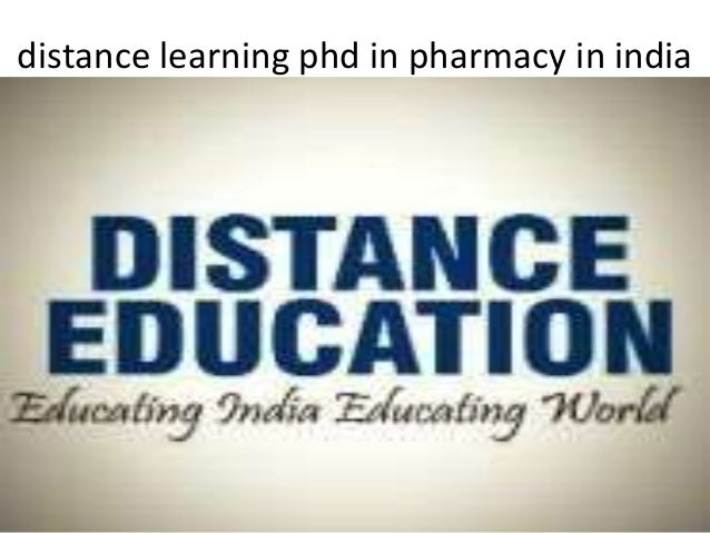 Phd distance learning
