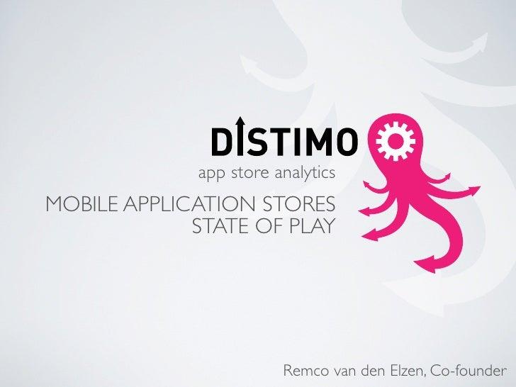 Distimo CTIA 2010 Presentation