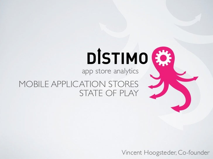 Distimo Mobile World Congress 2010 Presentation - Mobile Application Stores State of Play
