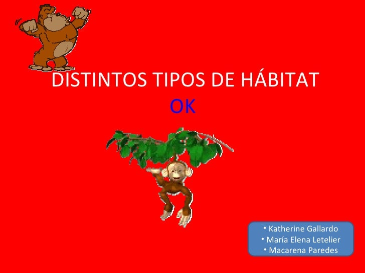 Distintos tipos de hábitat (1)