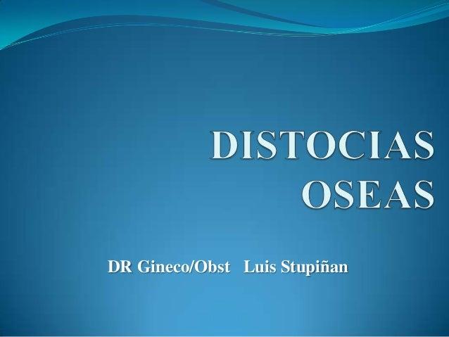 DR Gineco/Obst Luis Stupiñan
