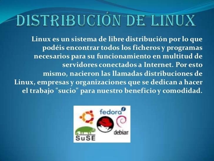 Distribución de linux