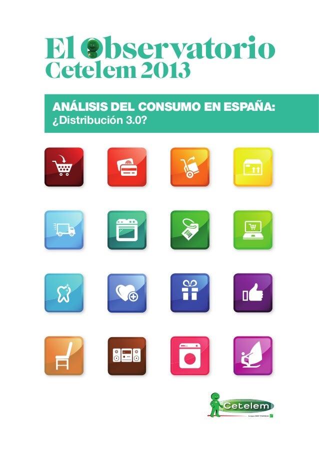 Observatorio Cetelem de la Distribución en España 2013: E-commerce