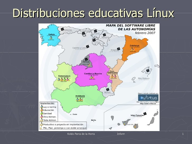 Distribuciones educativas Línux