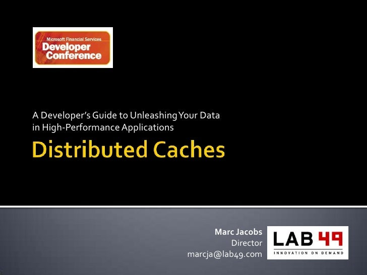 A Developer's Guide to Unleashing Your Data in High-Performance Applications                                              ...