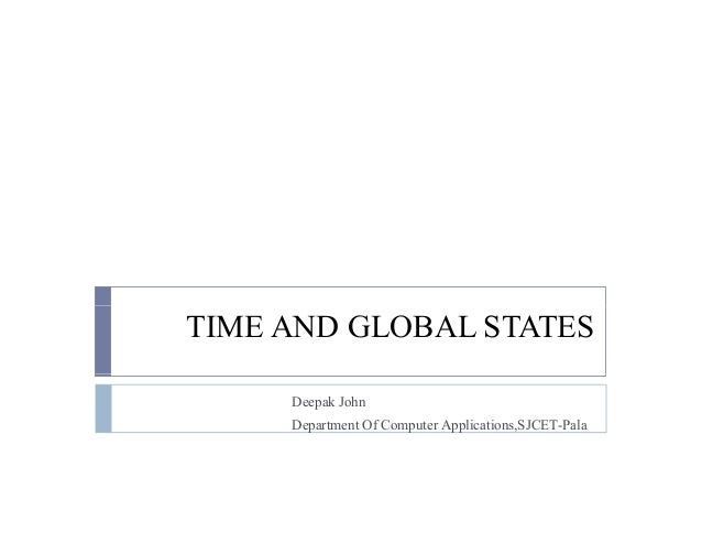 Distributed computing time