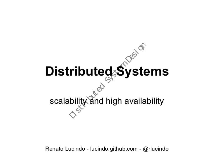 Distributedsystems 100912185813-phpapp01