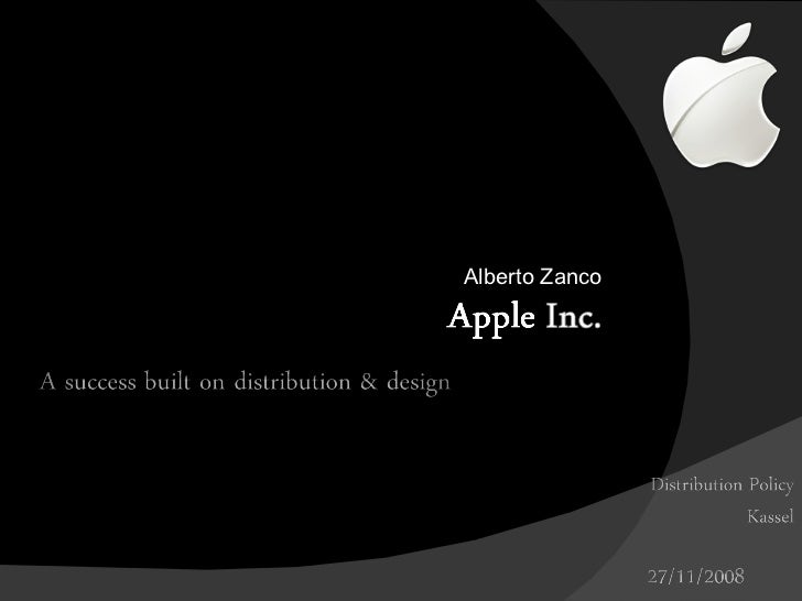 Distribution Policy Apple