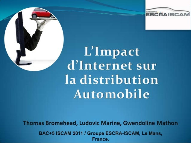 L'Impact d'Internet surla distribution  Automobile
