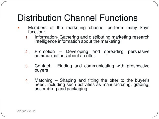 distribution marketing and channel members Some of the factors to consider while selecting channels of distribution are as follows: (i) product (ii) market (iii) middlemen (iv) company (v) marketing.