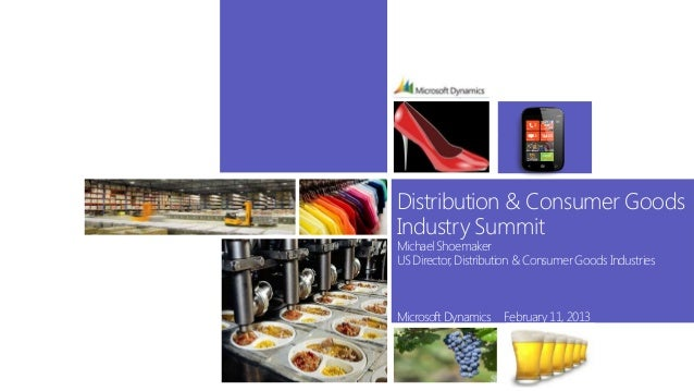 Distribution & consumer goods opening