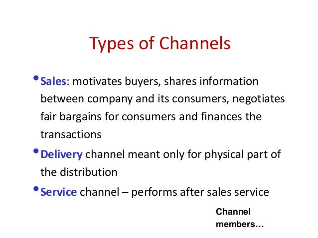 importance of distribution channels marketing essay What is the importance of marketing channels and distribution but before we discuss the importance of these we should.
