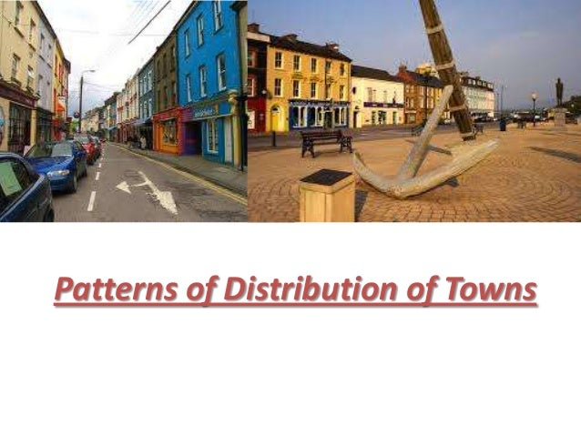 Distribution of Towns (Ireland)