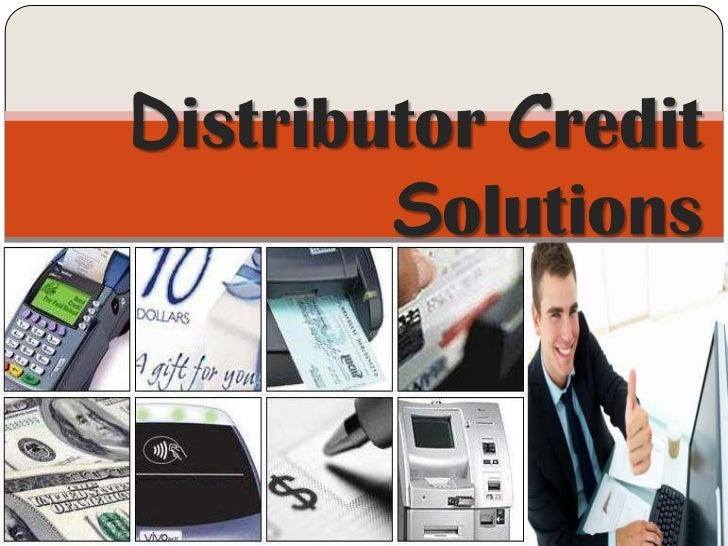 Distributor Credit Solutions <br />