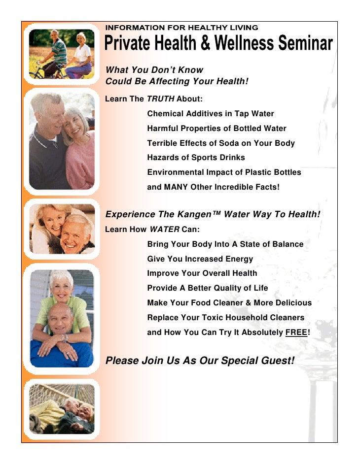 Distributor Health And Wellness Flyer Ii