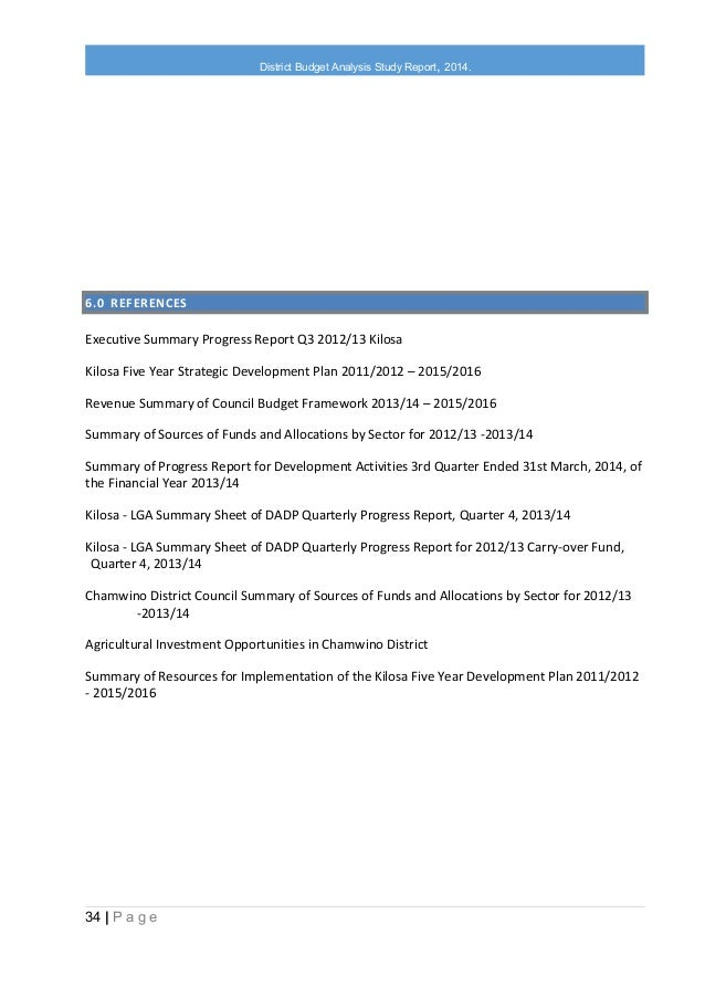 budget analysis report Budget reports are used to this sample of financial budget report template consists of an elaborate financial analysis of the trending sample budget report.