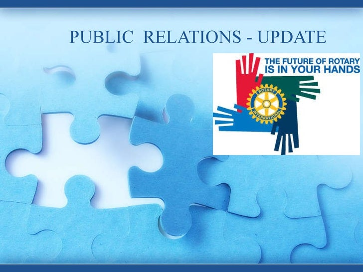Rotary 7070 District Conference PR Presentation