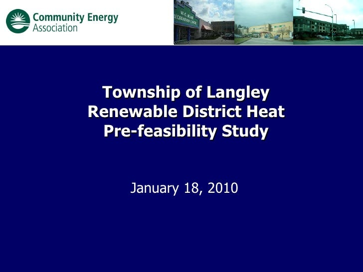 District Energy in the Township of Langley