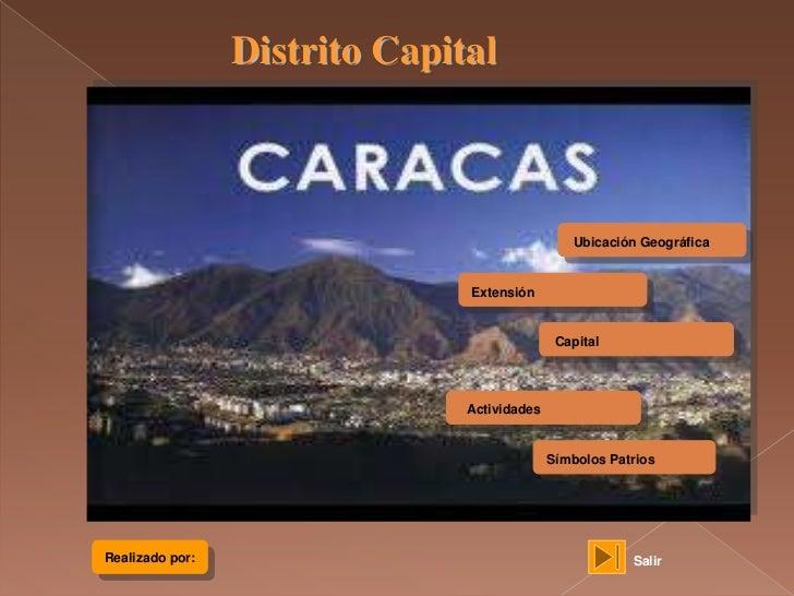 Distrito Capital                                                Ubicación Geográfica                               Extensi...